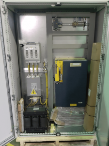 Drive panel ready for shipping